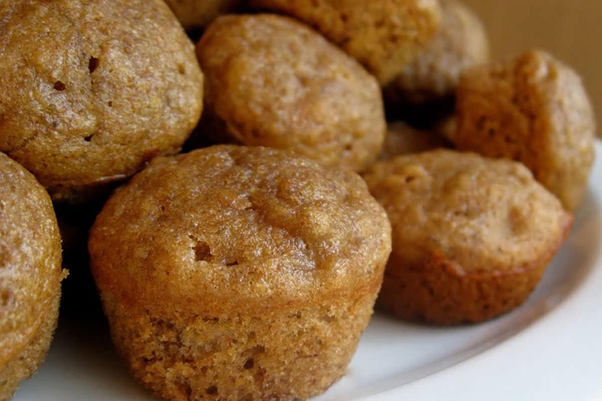 Bambú Clinic banana muffins